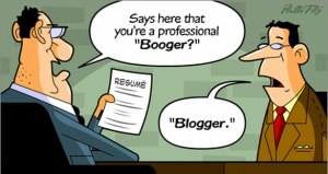 blogger-resume